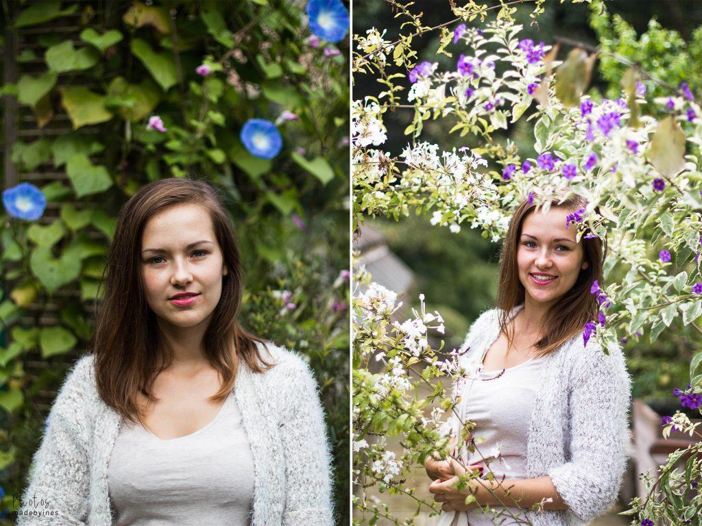 Portretfoto's Raya - Kruidtuin Leuven