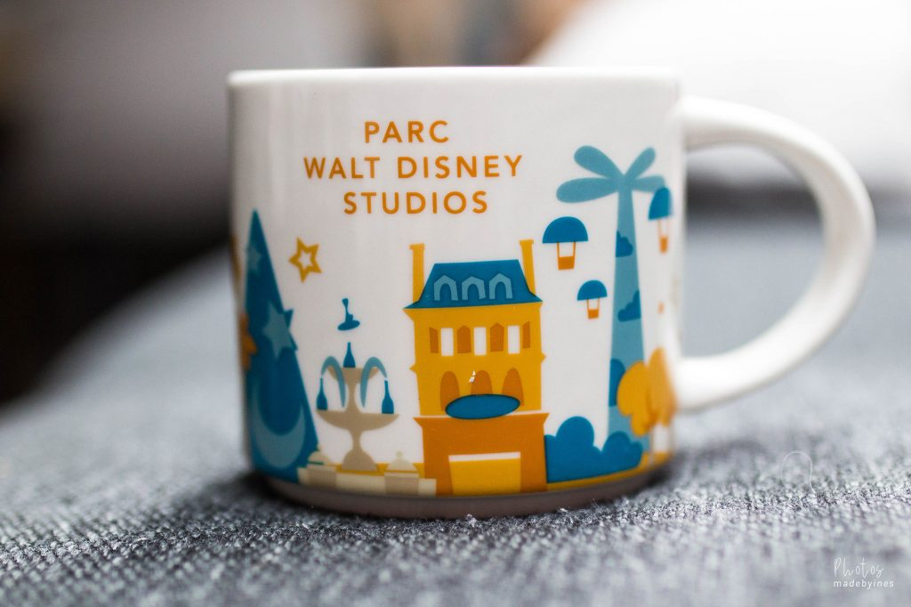 Starbucks you are here — Parc walt disney studios